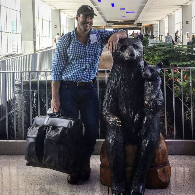 Teddy Leaving for SF
