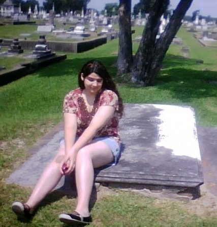 Emily on the General's Grave
