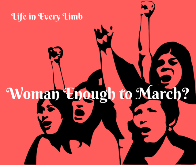 Woman Enough to March_
