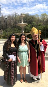 Confirmation day with Bishop