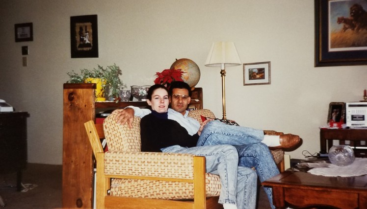 Newly married in FtWorth 90