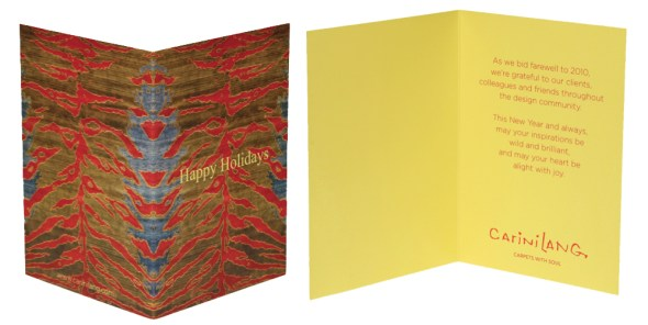 company holiday card