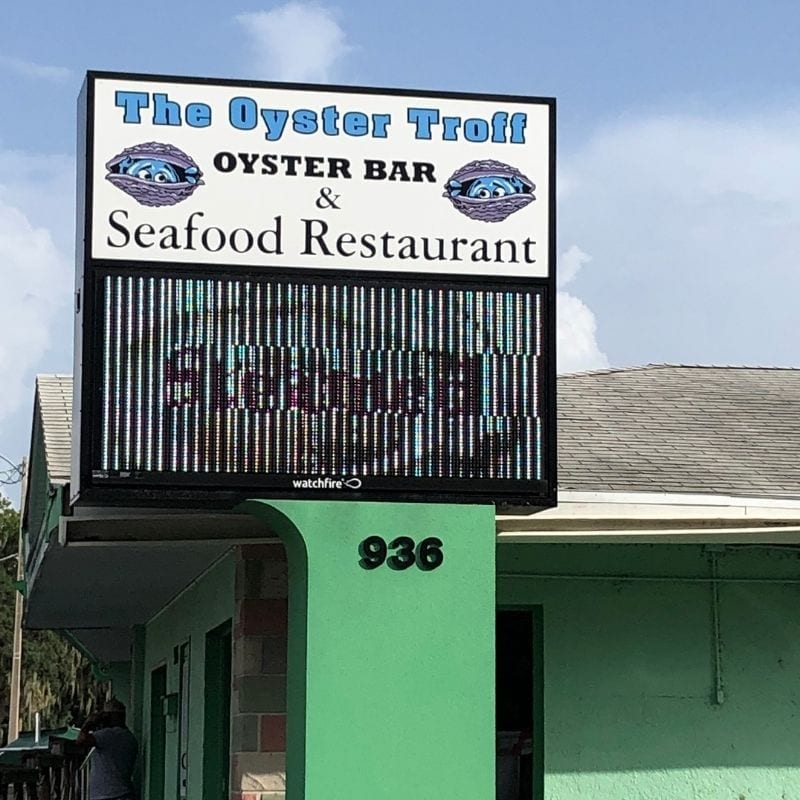The Oyster Troff Bay St. Eustis