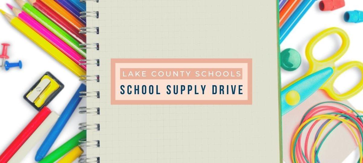Mount Dora School Supply Drive