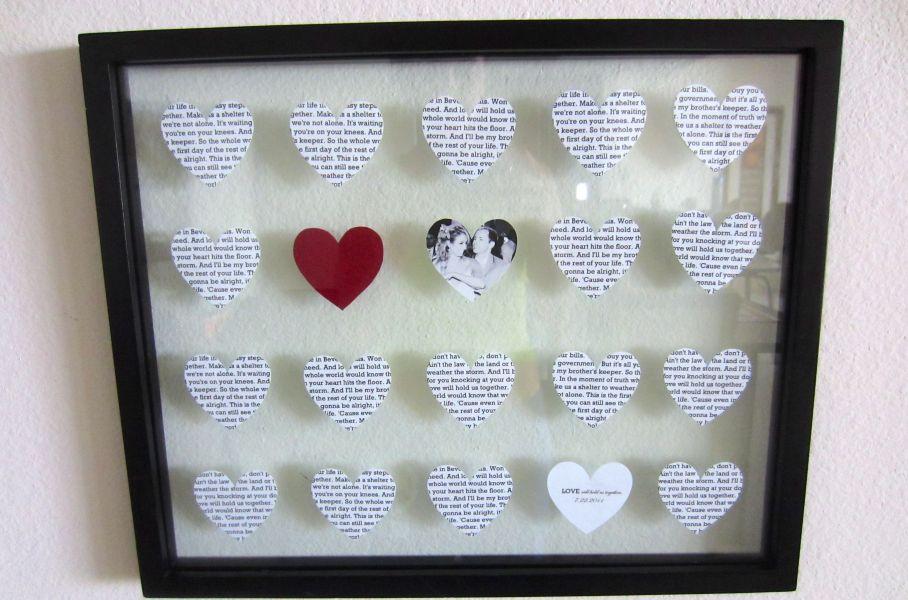 Diy Wedding Song Lyrics Picture Frame Photos Frame For Mobile High ...