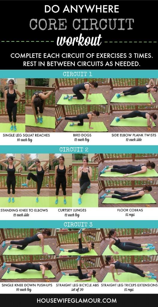 Core Circuit Training Workout