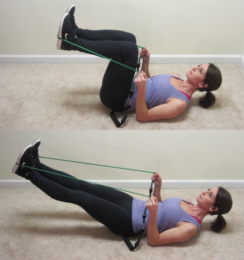 Living Room Resistance Band Workout