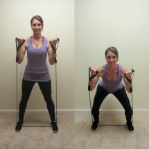 Squats with Resistance Band Workouts