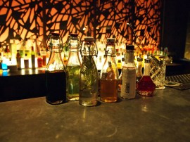 Custom spirits, South Place Hotel