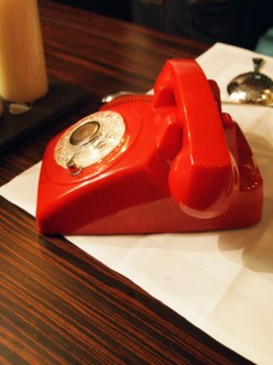 Red phone, South Place Hotel