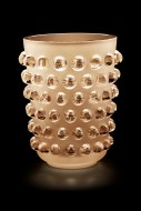 Mossi XXL - Vase lustre or - fond noir