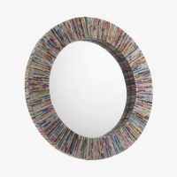 Design pick: Cohen recycled magazine mirror from Habitat