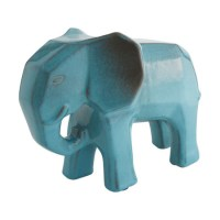 Design pick: Dunston blue ceramic elephant from Habitat