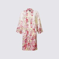 Fashion pick: Longline floral print kimono jacket from M&S Collection