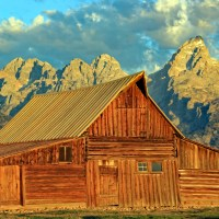 Grand Teton - Views of Moulton Barn