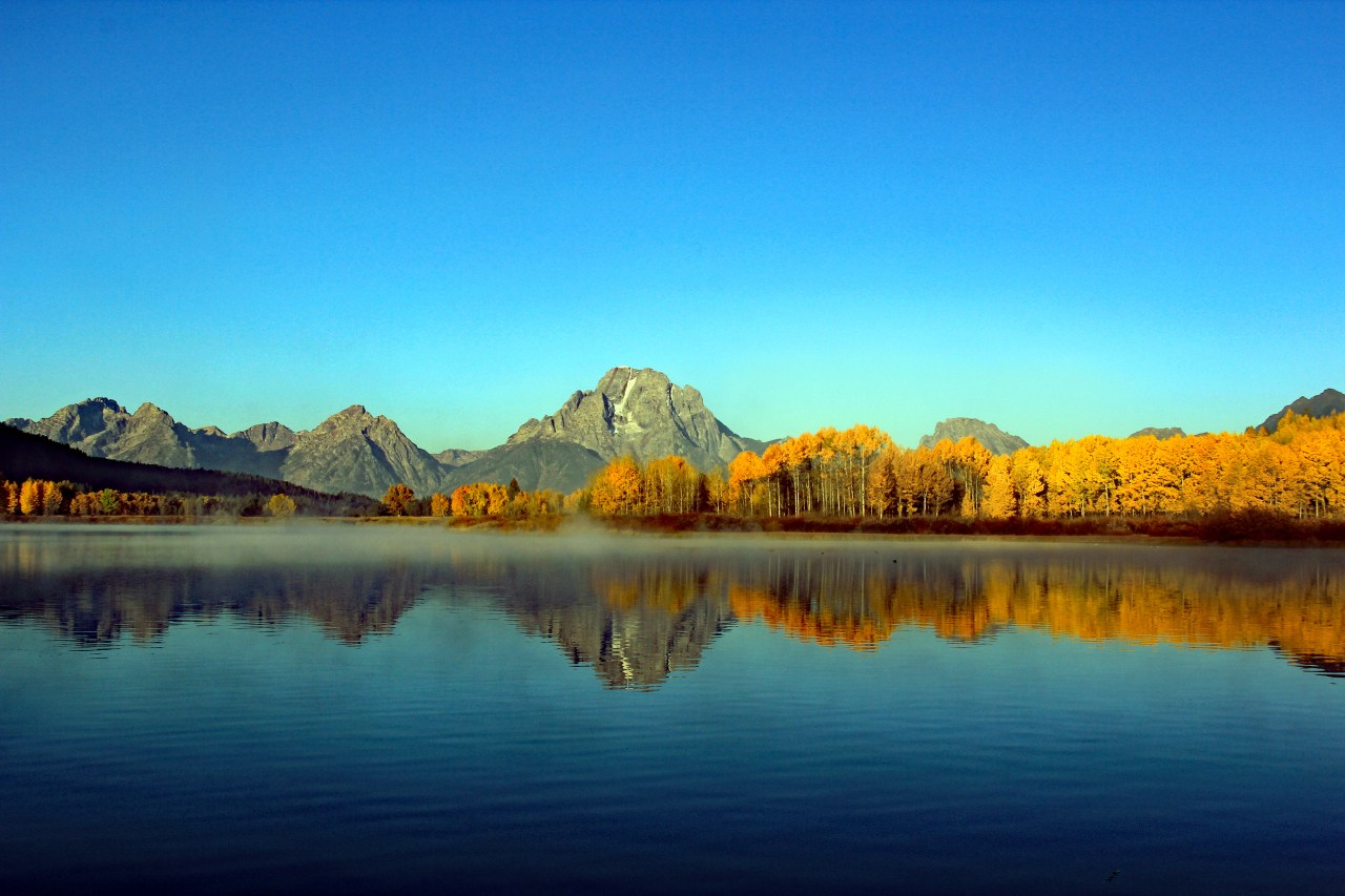 Mount moran sunrise pan BEST