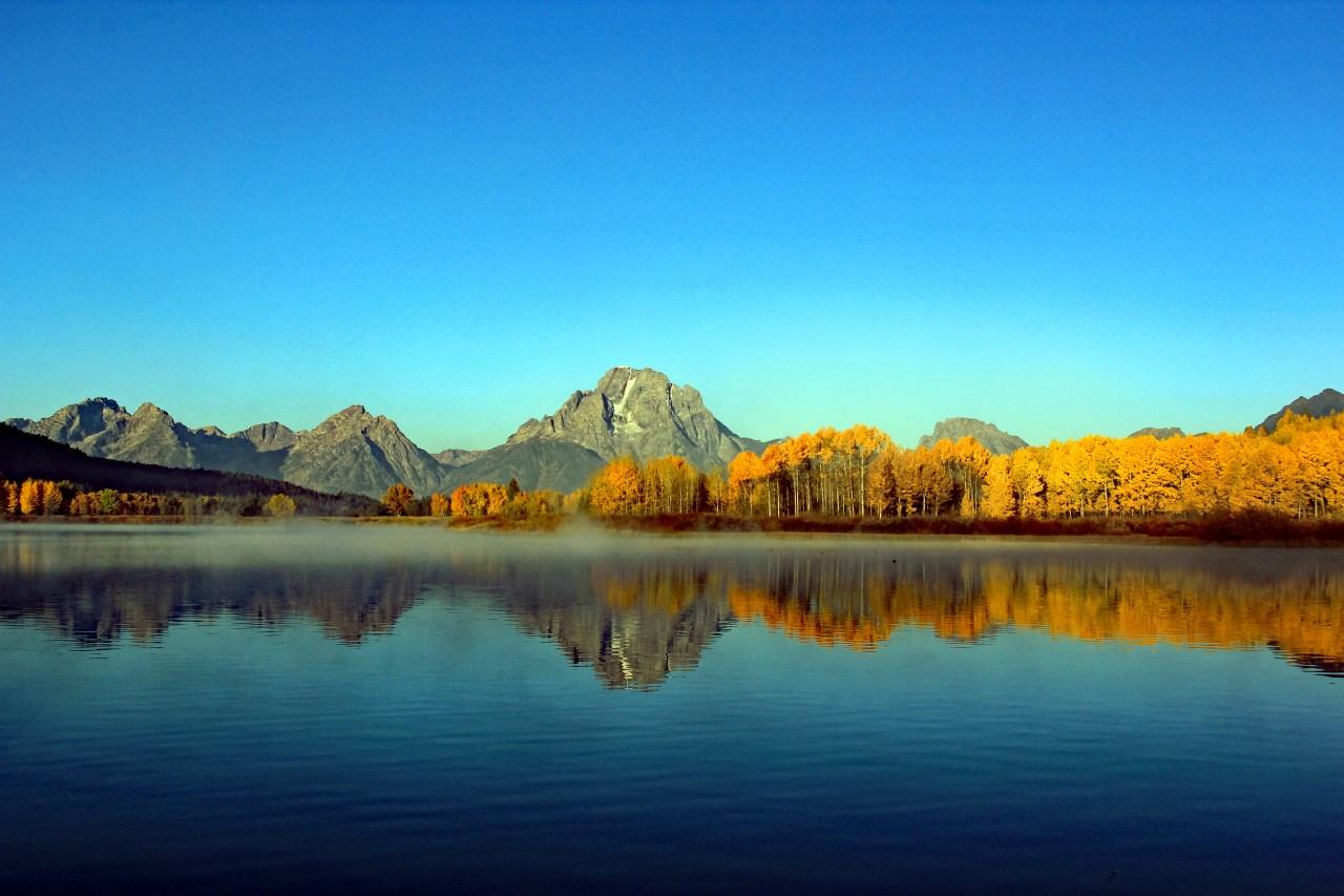 Mount moran sunrise pan BEST