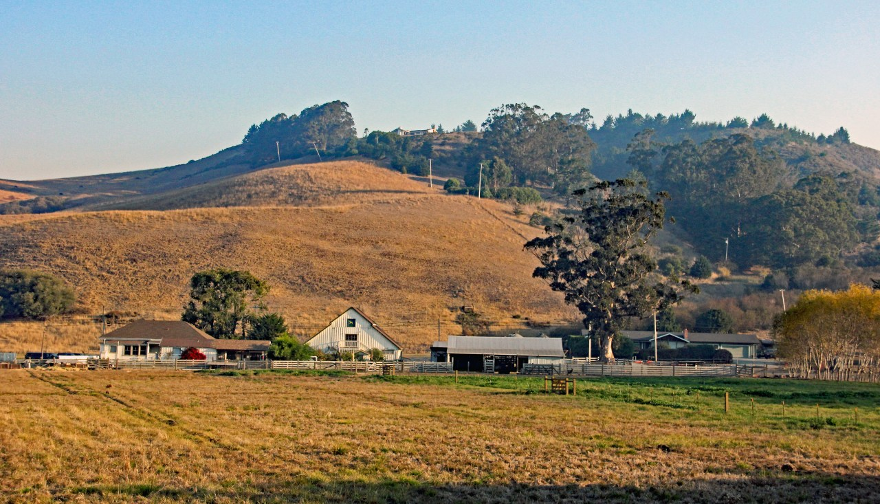 Pescadero farmhouse