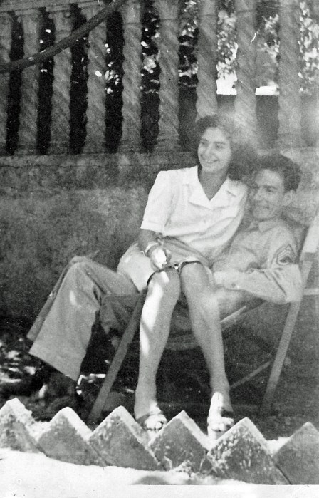 Richard and Livia Anderson June 1945 edited