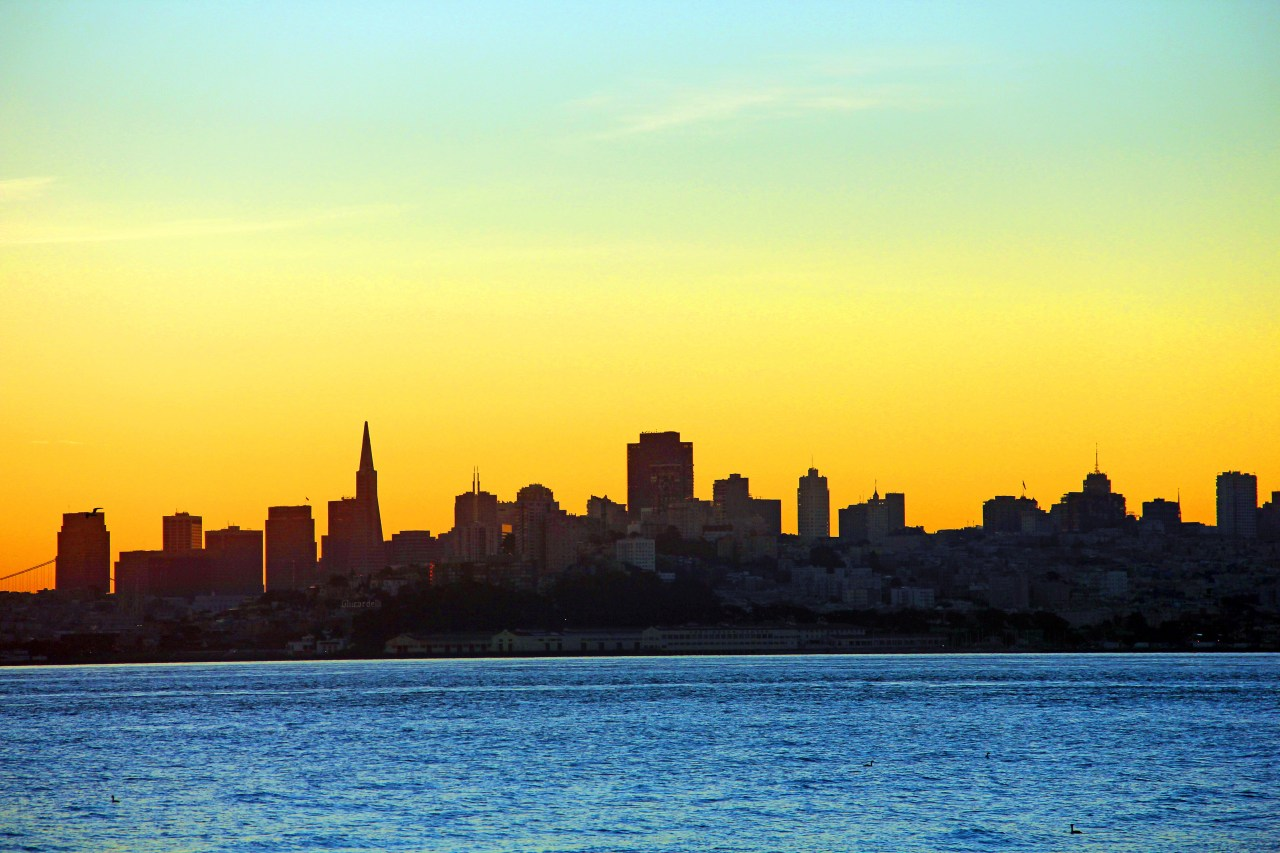 SF Skyline sunrise 1 copy
