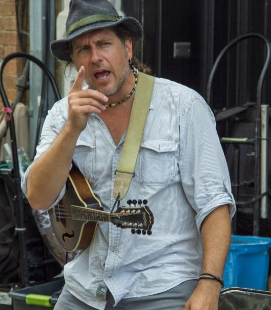 Street musician Quebec City