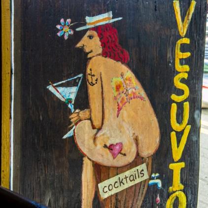 Vesuvio sign