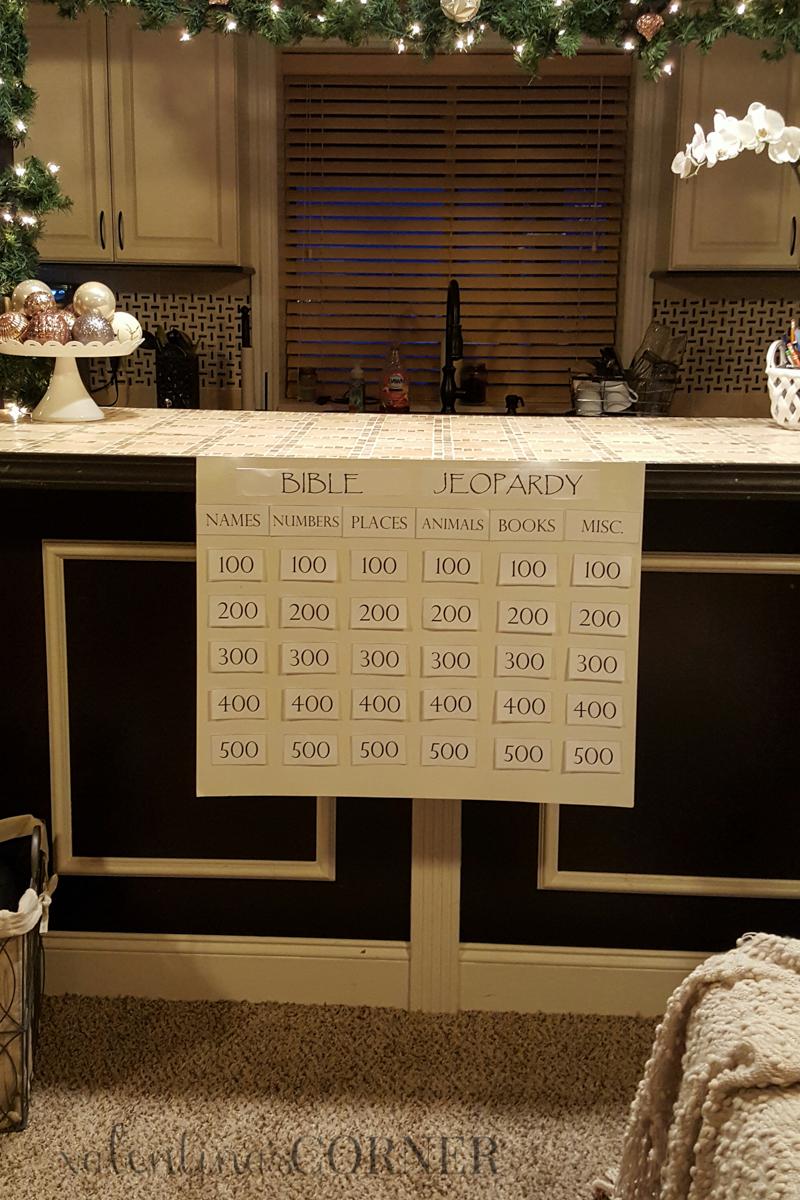 Homemade Bible Jeopardy