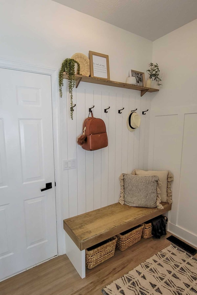 Mudroom Remodel and Styling