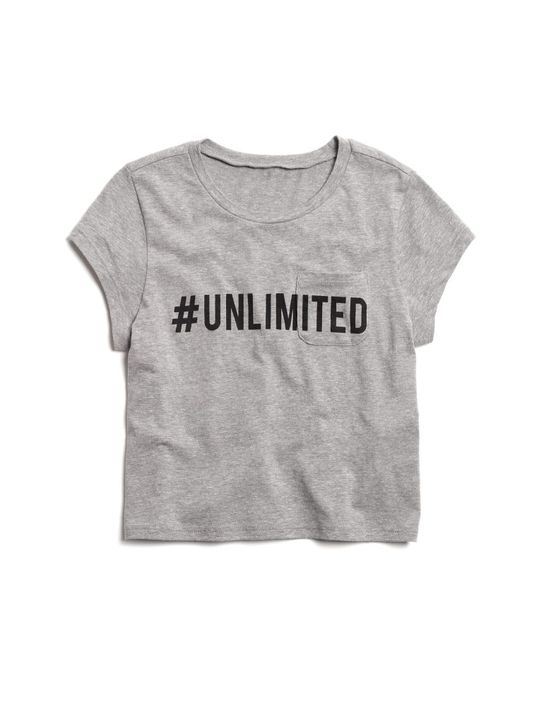 Old Navy Unlimited women cut T-shirt to spread community awareness for the boys and girls club