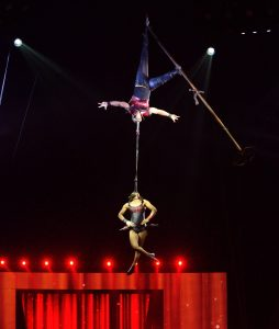 Circus Acts Duo Roxanne