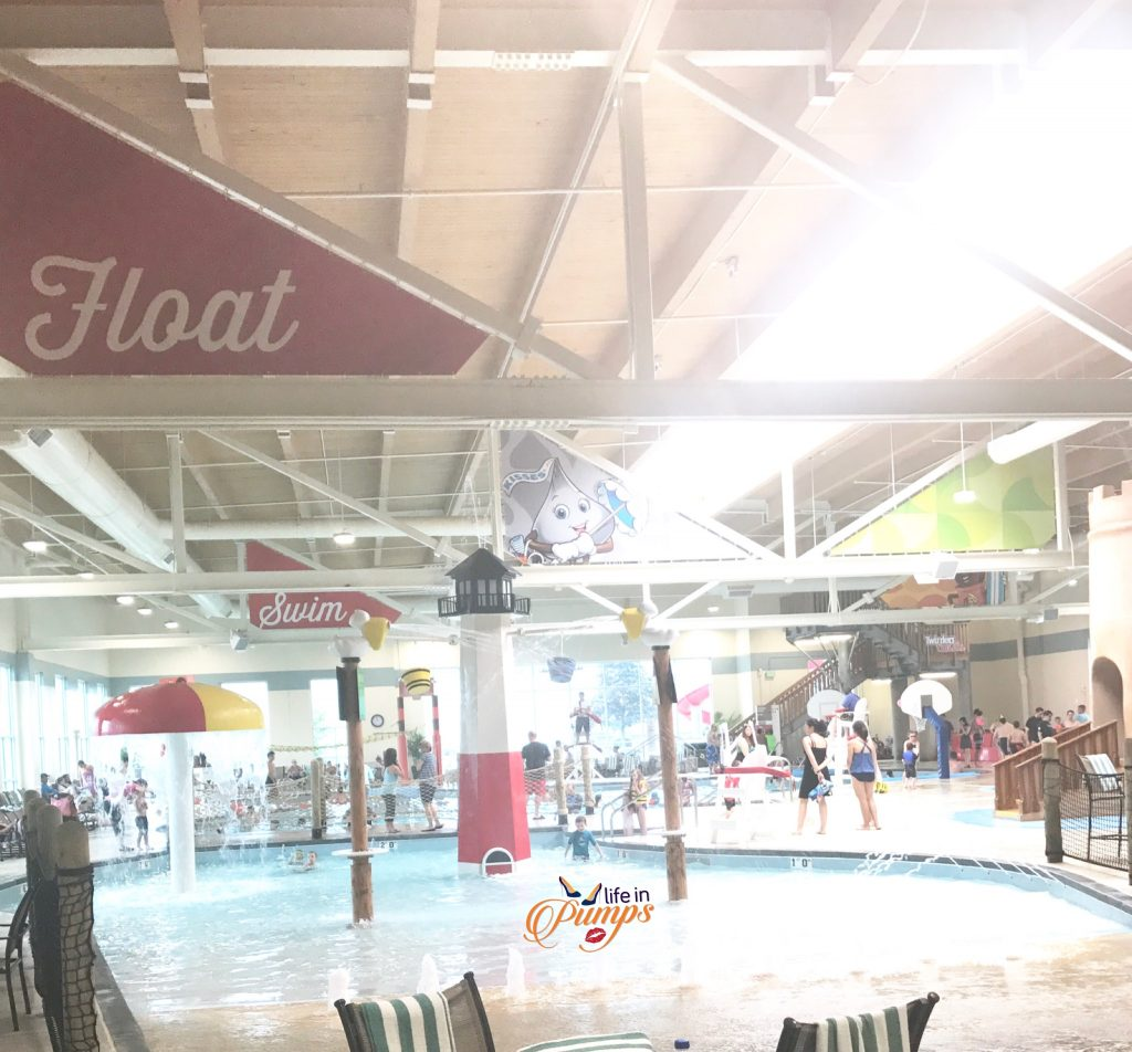 Waterpark fun at Hershey Lodge Water Works - Life in Pumps
