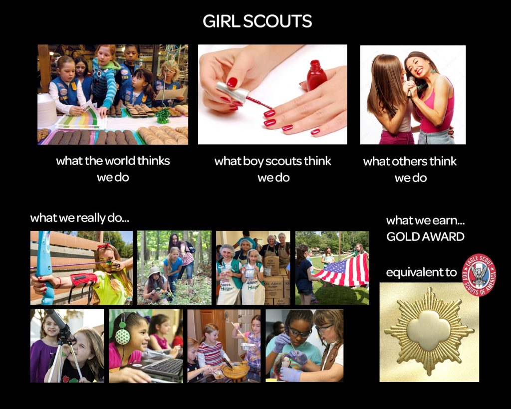 My Daughter, the Boy Scout 1