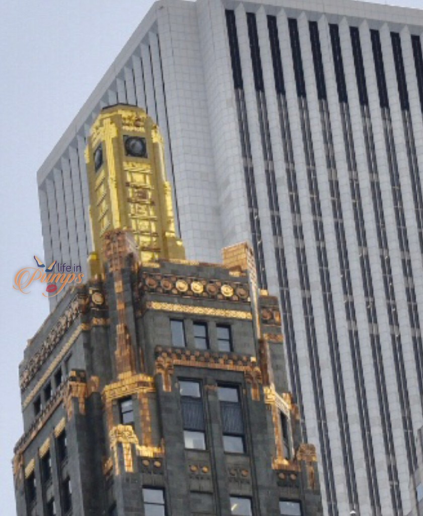 Carbon and Carbide building top, Chicago, cruise, tour,