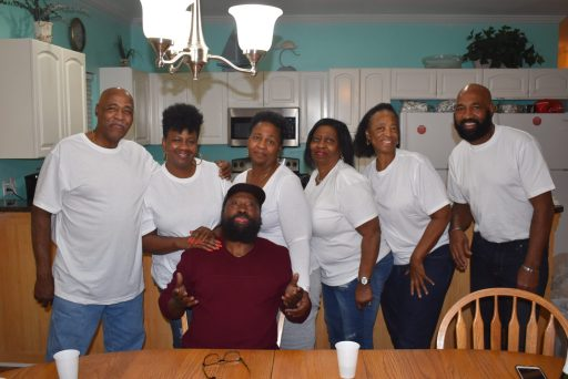 brown sisters and brothers.