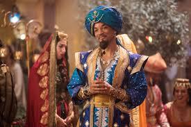 Aladdin three wishes movie what they wore Will Smith Genie