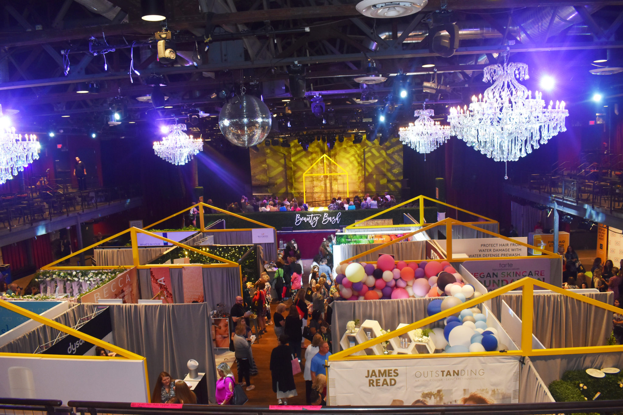 #BeautyBashPhll #LoveQVC Overview of Beauty Bash at the Philadelphia Fillmore.