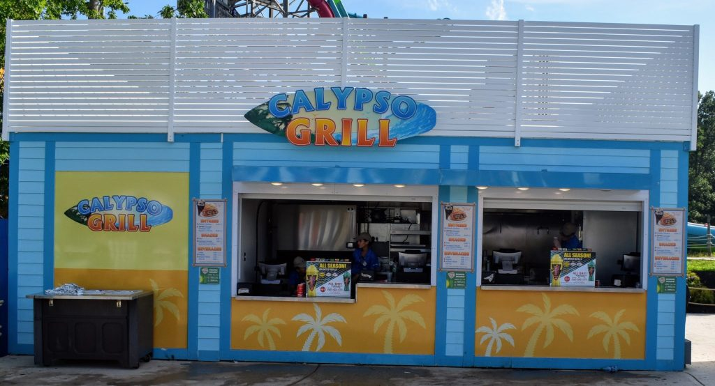 Calypso Grill dining at Hurricane Harbor