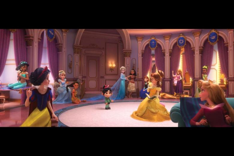 Disney Princess Ralph Breaks The Internet