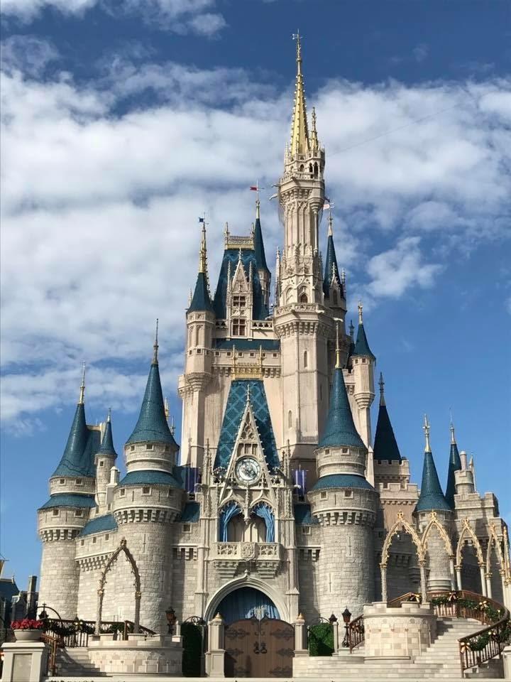 Cinderella's castle at Walt Disney World Magic Kingdom