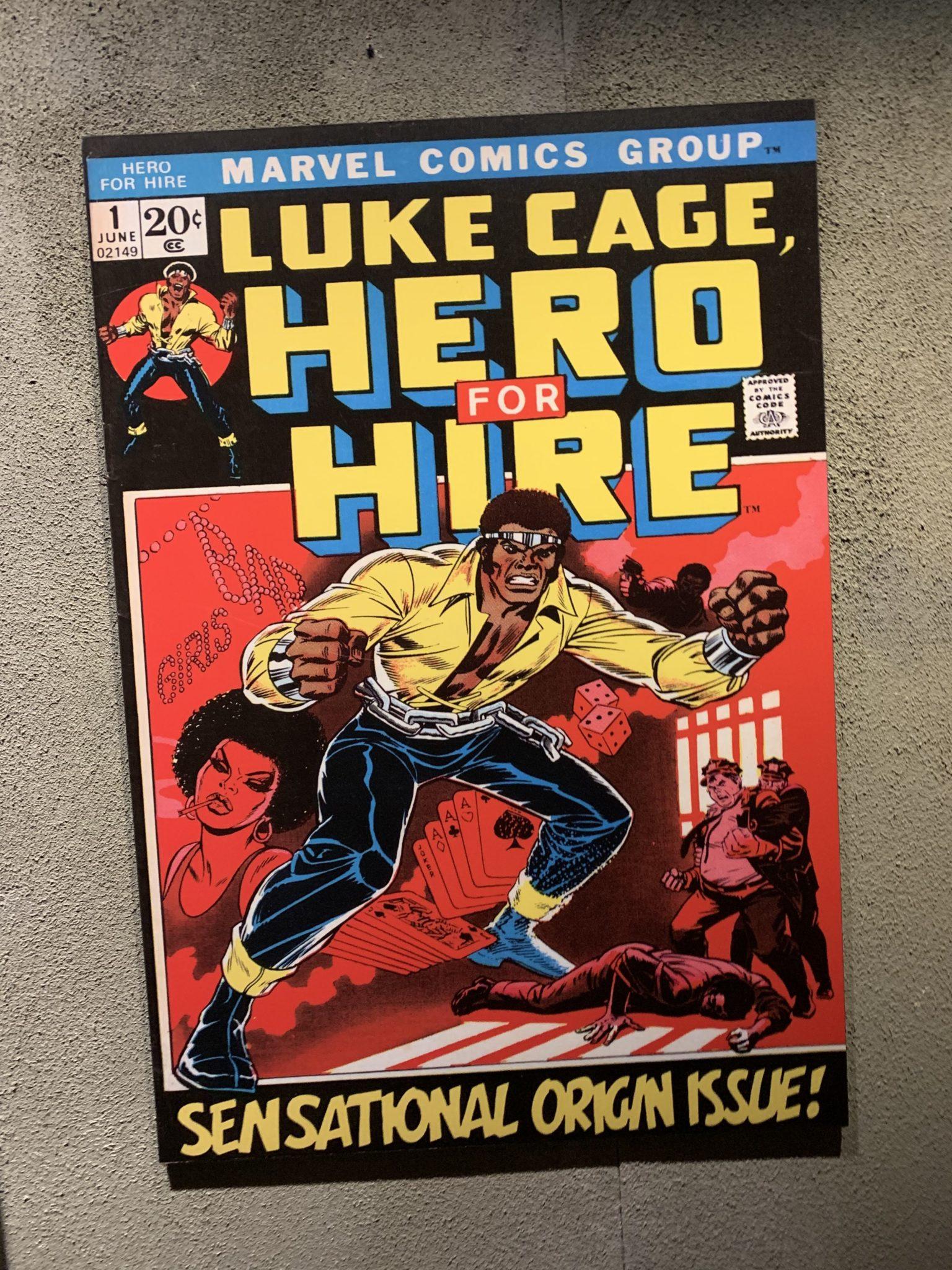 Luke Cage Comic