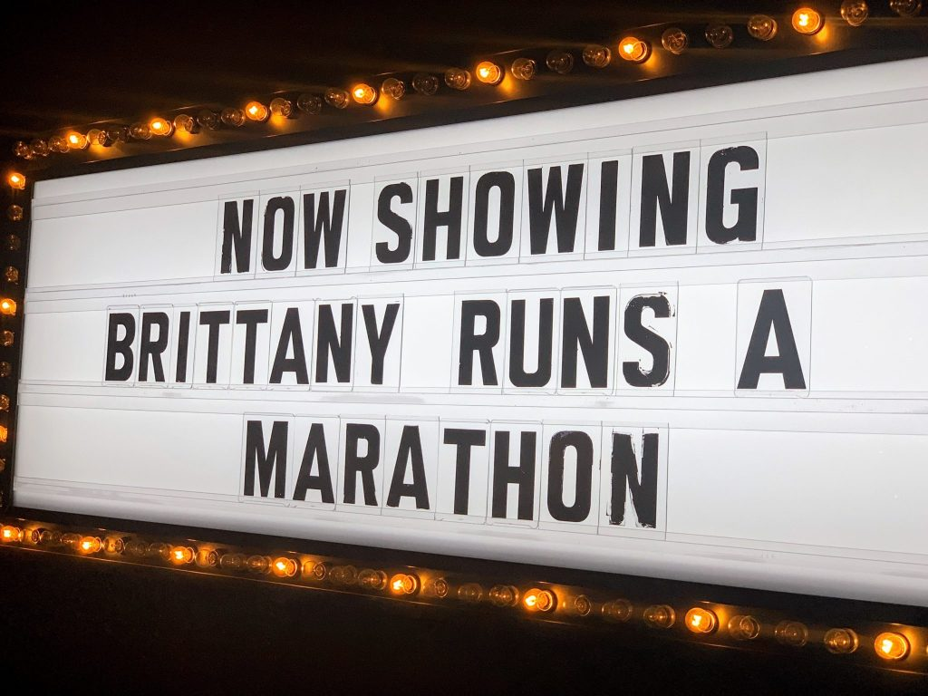 Philly Movie Screening for Brittany Runs a Marathon at the Fitler Club.