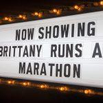 Brittany Runs a Marathon Placard