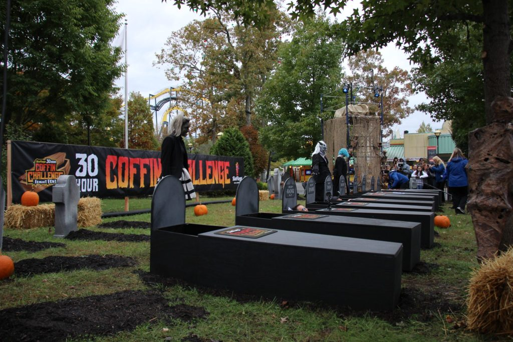 Coffin Challenge Six Flags Great Adventure 30 hours