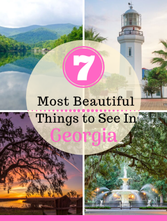 Beautiful things to see in Georgia