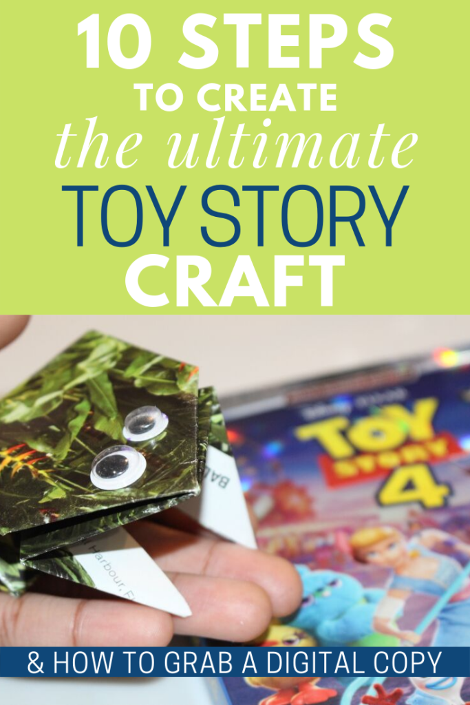 Toy Story DIY Craft activity