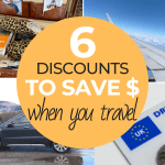 travel discounts to save money