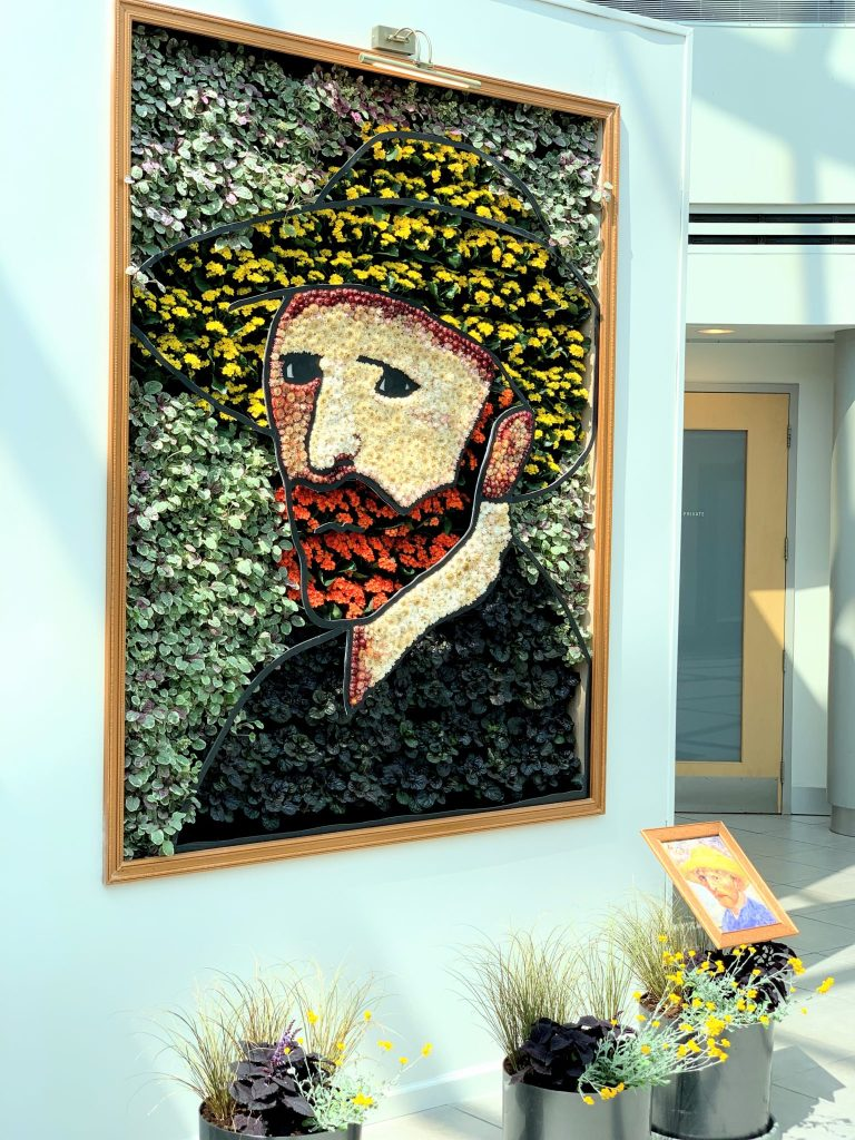 Van Gogh in Bloom at Phipps Conservatory located in Pittsburgh
