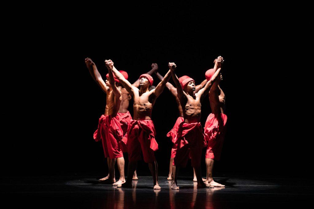 Philadanco African American dancers