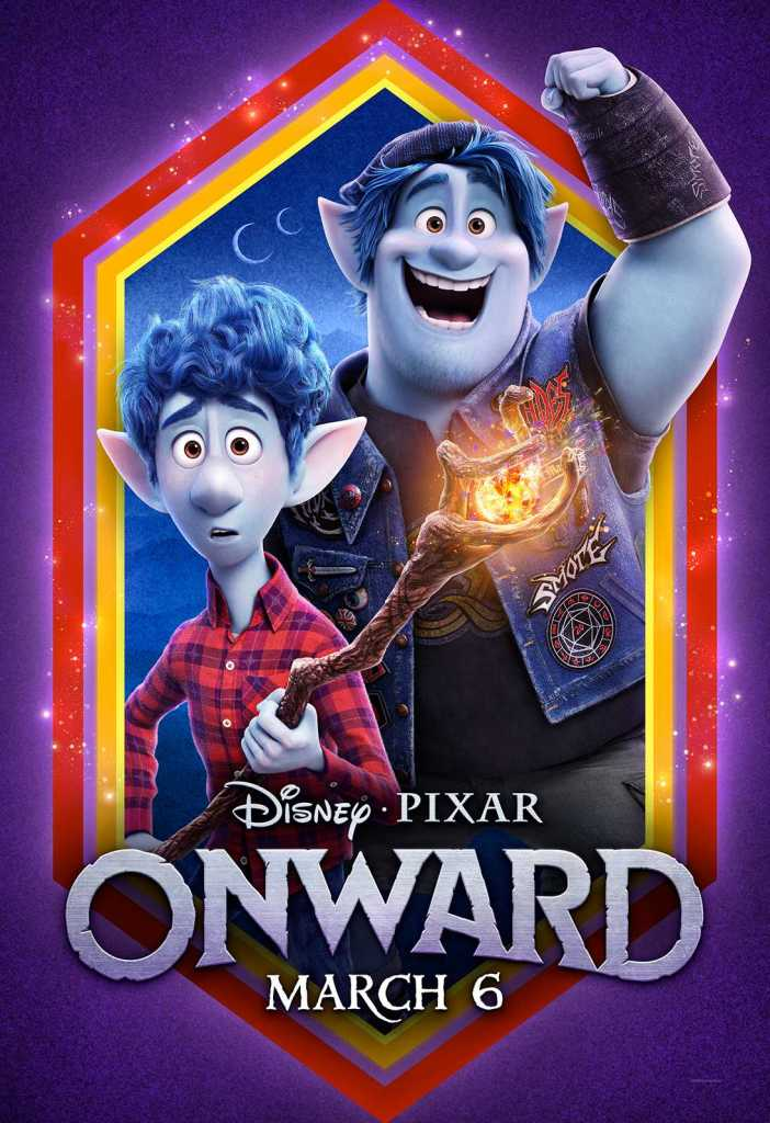 Disney Pixar Onward Movie Poster #PixarOnward