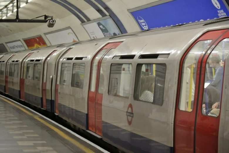 Train system in London sustainable travel tips